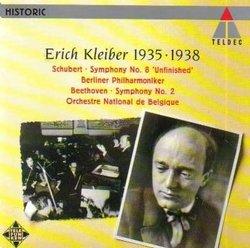 Erich Kleiber 1935 & 1938 - Schubert: Symphony No. 8 'Unfinished', Beethoven: Symphony No. 2 (Teldec)