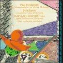 Bartok: Concerto for viola Sz120; Hindemith: Schwanendreher