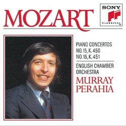 Mozart: Concertos Nos. 15 & 16