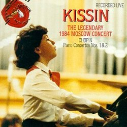 Legendary 1984 Moscow Concert / Chopin Piano Ctos