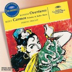 Bizet: Carmen Preludes & Ballet Music; Rossini: Overtures [Germany]