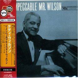 Impeccable Mr Wilson