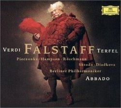 Verdi - Falstaff / Terfel, Pieczonka, Hampson, Röschmann, Shtoda, Diadkova, Berlin Phil., Abbado