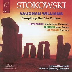 Ralph Vaughan Williams: Symphony No.9 in e minor / Alan Hovhaness: Symphony No.2 ''Mysterious Mountain''