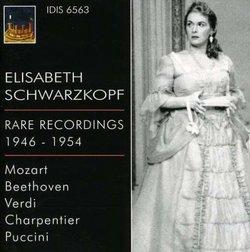Elisabeth Schwarzkopf Rare Rcordings, 1946-1954