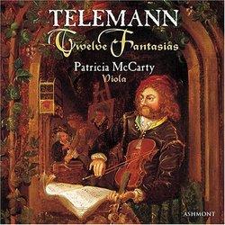 Twelve Fantasias performed on viola