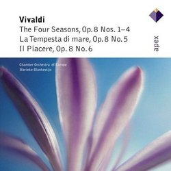 Vivaldi: The Four Seasons; La Tempesta di mare; Il Piacere
