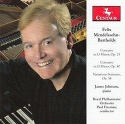 Mendelssohn-Bartholdy: Piano Concertos - Variations Serieuses