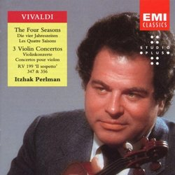 Vivaldi: The Four Seasons; 3 Violin Concertos