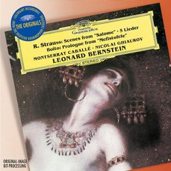 Strauss: Scenes From 'Salome'; 5 Lieder; Boito: Prologue From 'Mefistofele'