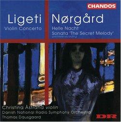 Ligeti & Nørgård: Violin Concertos
