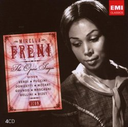 Icon: Mirella Freni Sings Verdi, Puccini, Donizetti, Mozart, Gounod, Mascagni, Bellini, Bizet