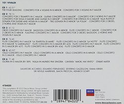 101 Vivaldi [6 CD]