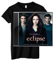 The Twilight Saga: Eclipse Soundtrack (CD & T-Shirt)