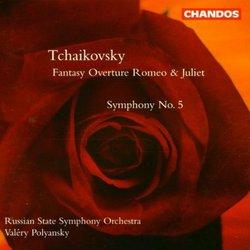 Symphony 5 / Romeo & Juliet / Fantasy Overture
