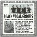 Black Vocal Groups 3