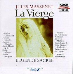 Massenet - La Vierge / Command · Castets · Olmeda · Keller · Salmon · Hacquart · Fournillier