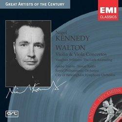 Walton: Violin Concerto, Viola Concerto / Vaughan Williams: The Lark Ascending