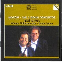 Mozart: The Five Violin Concertos Perlman/Vienna PhilharmonicLevine/
