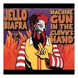 Machine Gun in Clown's Hand