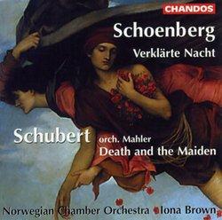 Arnold Schoenberg: Verklärte Nacht; Schubert: Death and the Maiden