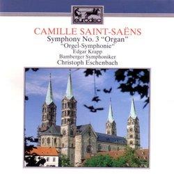 """Saint-Saens: Symphony No. 3 """"Organ""""; Franck: Chorale No. 3"""