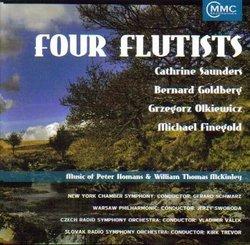 Four Flutists: Music of Peter Homans & William Thomas McKinley