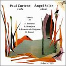 Sonata for Viola & Piano / Moments Muscials
