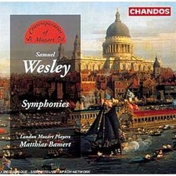 Wesley: Symphonies (London Mozart Players) Mathias Bamert