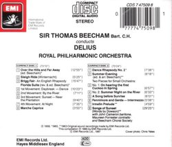 Beecham Conducts Delius: The Complete Stereo Recordings