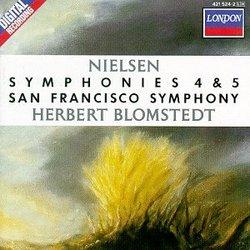 Nielsen: Symphonies 4 & 5