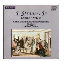 STRAUSS II, J.: Edition - Vol. 14