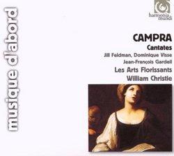 Campra - Cantatas française / Feldman · Visse · Gardeil · Les Arts Florissants · Christie