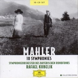 Mahler 10 Symphonies (Box set)