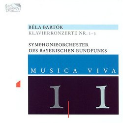Bartók: Klavierkonzerte Nr. 1-3
