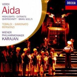Verdi: Aida (Highlights) / Karajan