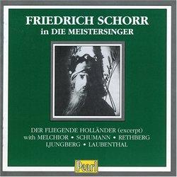 Friedrich Schorr in Die Meistersinger