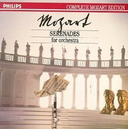 Mozart: Serenades for Orchestra [Box Set]