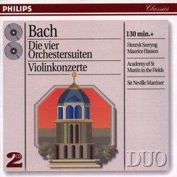 Bach - Orchestral Suites & Violin Concertos / Marriner