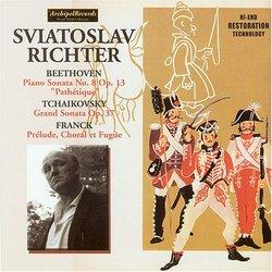 Beethoven: Piano Sonata No. 8 Op. 13; Tchaikovsky: Grand Sonata Op. 37; Franck: Prélude, Choral et Fugue