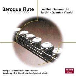 Baroque Flute Concertos: Loeillet, Sammartini, Tartini, Quantz, Vivaldi