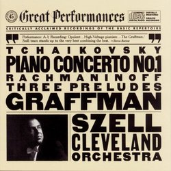 Tchaikovsky: Piano Concerto No. 1; Rachmaninov: 3 Preludes (CBS Great Performances)