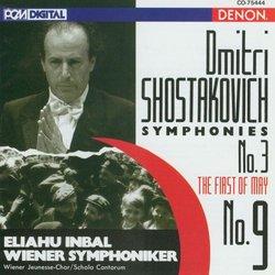 Dmitri Shostakovich: Symphonies No. 9 & No. 3