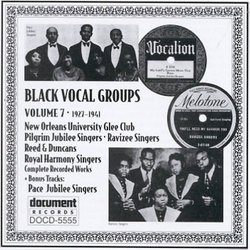 Black Vocal Groups 7
