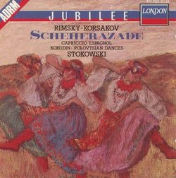 Rimsky-Korsakov: Scheherazade; Capriccio Espagnol / Borodin: Polovtsian Dances