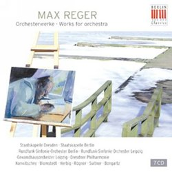 Reger: Works for Orchestra [Box Set]
