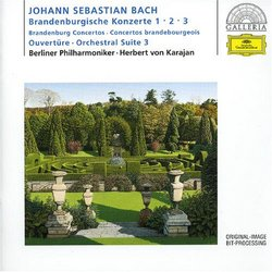 J.S. Bach: Brandenburg Concertos Nos. 1 - 3; Orchestral Suite 3 [Germany]