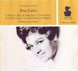 Don Carlo Opera in Quattro Atti