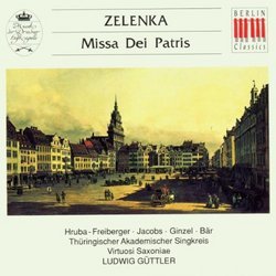 Jan Dismas Zelenka: Missa Dei Patris, ZWV 19, C-dur