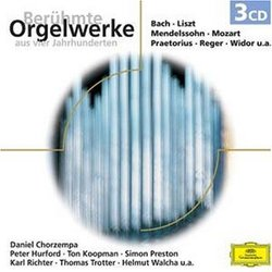 Beruehmte Orgelwerke